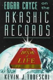 Cover of: Edgar Cayce on the Akashic records