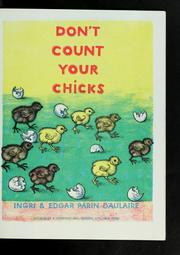 Cover of: Don't count your chicks