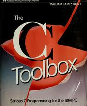 The C toolbox by William James Hunt