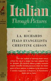 Cover of: Italian through pictures
