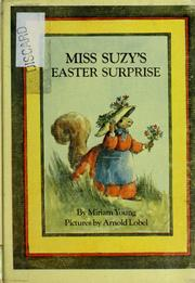 Cover of: Miss Suzy's Easter surprise by Miriam Young