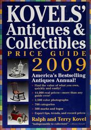 Cover of: Kovels' antiques & collectibles price guide 2009