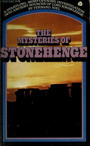 Cover of: The mysteries of Stonehenge | Fernand Niel