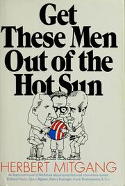 Cover of: Get these men out of the hot sun