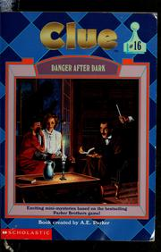 Cover of: Danger after dark | Dona Smith