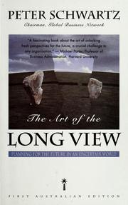 Cover of: The art of the long view