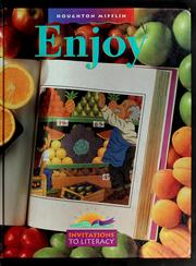 Cover of: Enjoy
