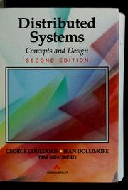 Cover of: Distributed systems | George F. Coulouris