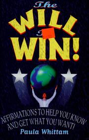 Cover of: The Will to Win