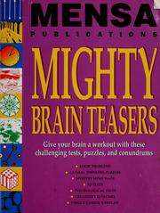 Cover of: Mensa publications mighty brain teasers