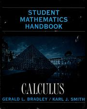Cover of: Student Mathematics Handbook and Integral Table for Calculus