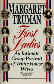 Cover of: First ladies