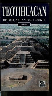 Cover of: Teotihuacan | Susana Vogel