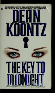 Cover of: The key to midnight | Dean R. Koontz