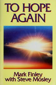 Cover of: To hope again