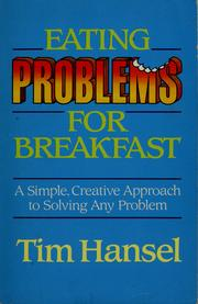 Cover of: Eating Problems for Breakfast