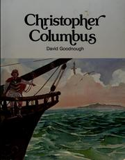 Cover of: Christopher Columbus | David Goodnough