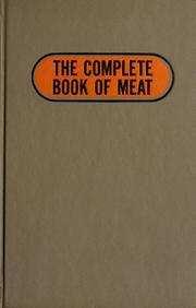 Cover of: The complete book of meat. | Phyllis C. Reynolds
