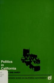 Cover of: Politics in California | Robert Loren Morlan