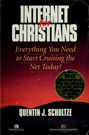 Cover of: Internet for Christians | Quentin J. Schultze
