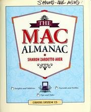 Cover of: The Mac almanac