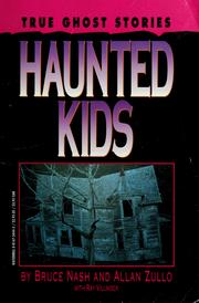 Cover of: Haunted kids | Bruce M. Nash