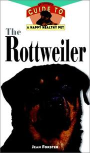 Cover of: The Rottweiler