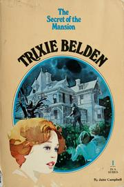 Cover of: The Secret of the Mansion [Trixie Belden 1]