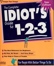 Cover of: The complete idiot's guide to 1-2-3
