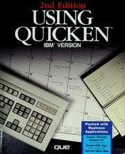 Cover of: Using Quicken
