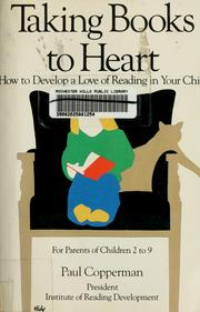 Cover of: Taking books to heart | Paul Copperman
