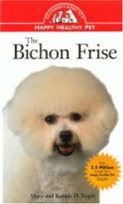 Cover of: The Bichon frise