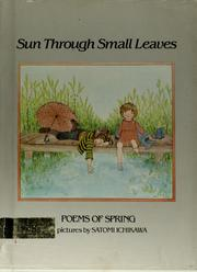 Cover of: Sun through small leaves |