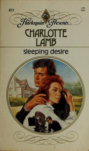 Cover of: Sleeping Desire | Charlotte Lamb