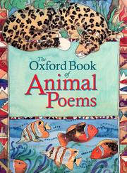 Cover of: Oxford book of animal poems | edited by Michael Harrison and Christopher Stuart-Clark.