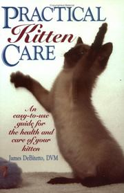Cover of: Practical kitten care