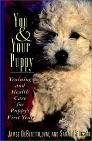 Cover of: You & your puppy