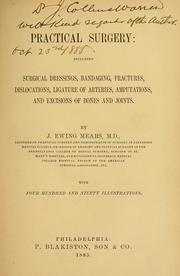Cover of: Practical surgery | J. Ewing Mears