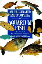 Cover of: An illustrated encyclopedia of aquarium fish