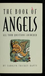 Cover of: The book of angels | Carolyn Trickey-Bapty