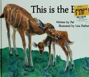 Cover of: This is the earth