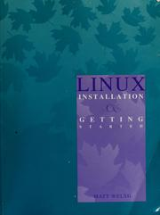 Cover of: Linux Installation & Getting Started