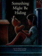 Cover of: Something might be hiding