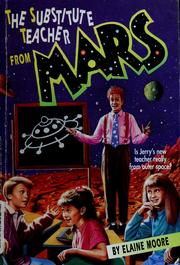 Cover of: The substitute teacher from Mars
