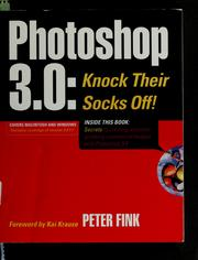 Cover of: Photoshop 3.0 | Peter Fink