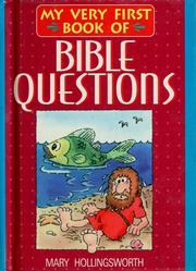Cover of: My very first book of Bible questions