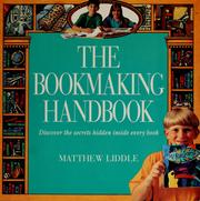 Cover of: The bookmaking handbook