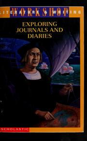 Cover of: Exploring journals and diaries | Robert Henderson Fuson