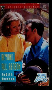 Cover of: Beyond all reason