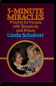 Cover of: 5-minute miracles | Linda Schubert
